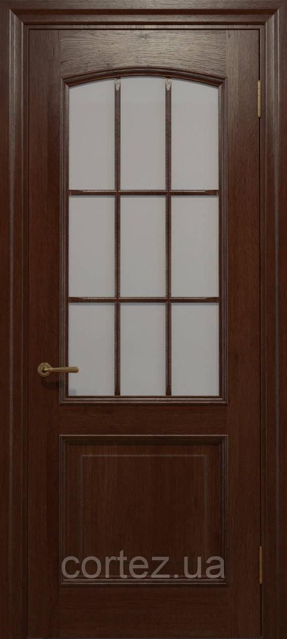 Межкомнатные двери шпон Модель E012K