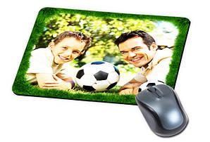 Прямоугольный коврик для мыши с Вашим дизайном (толщина 5 мм)