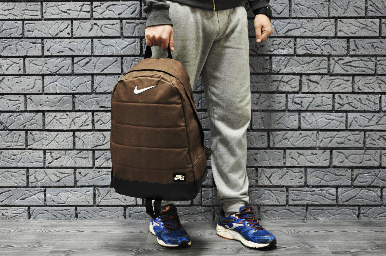 Рюкзак nike air, коричневый