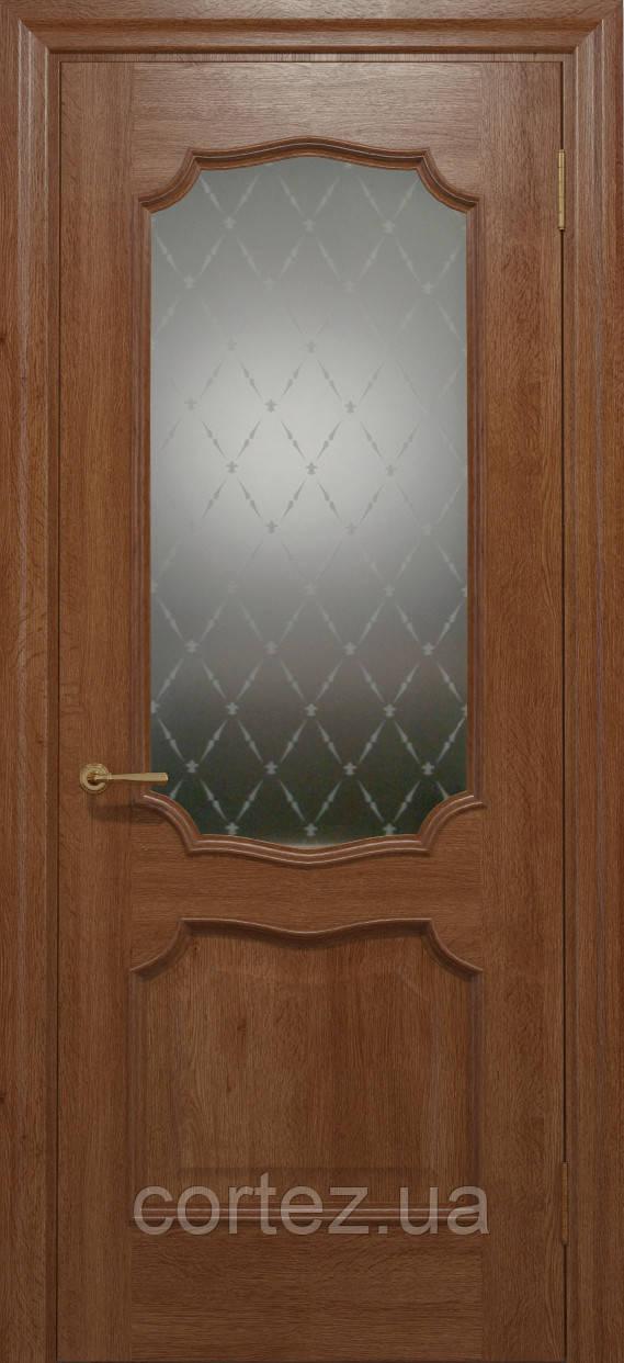 Межкомнатные двери шпон Модель E022