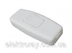 Выключатель для бра Luxel белый
