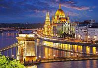 Пазлы Панорама Будапешта в сумерках, 2000 элементов Castorland С-200405