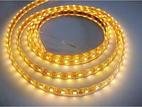 Светодиодная лента Luxel влагостойкая 5050-60-65Y 72W 5 метров (Цвет: Желтый)