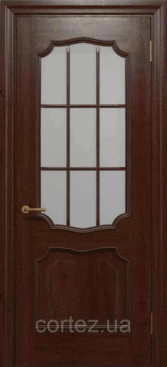 Межкомнатные двери шпон Модель E022К