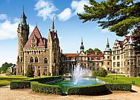 Пазли Мошненский замок, Верхня Сілезія, 1500 елементів Castorland З-150670