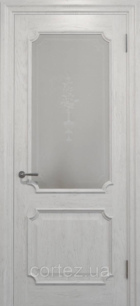 Межкомнатные двери шпон Модель E032