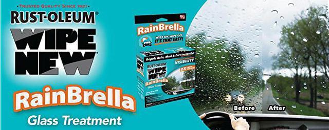 Средство для защиты стекла от дождя Rust-Oleum Wipe New RainBrella -