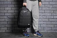 Рюкзак nike air, темно-серый под джинс