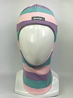 Шапка-шлем весна-осень для девочки 1511-27