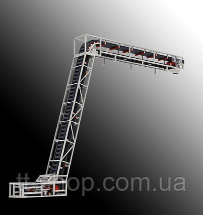 Ленточный конвейер длинной 8 м, ширина ленты 600 мм, фото 2