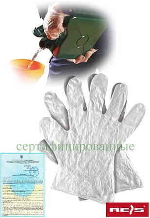 Перчатки полиэтиленовые Reis Польша RFOLIA T