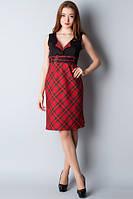 Платье--сарафан с поясками П56