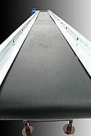 Ленточный конвейер длинной 3 м, ширина ленты 800 мм
