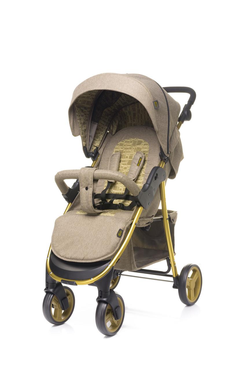 Прогулочная детская коляска с алюминиевой рамой 4Baby Rapid