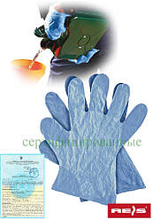 Перчатки из пленки Reis Польша RFOLIA N