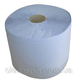 Промышленная протирка бумажная голубая 3слоя 1000 отрывов 24см Eco Point