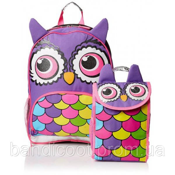 Рюкзак и термосумка для обеда  Mystic Apparel Owl Critter Backpack with Lunch Kit
