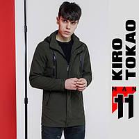 Ветровка японская мужская весна осень Kiro Tokao - 2055 зеленый