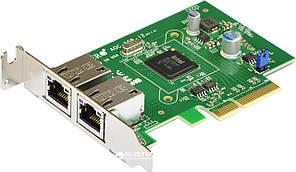 Контроллер Dual Port Gigabit Ethernet Server Adapter 2 ports 10/100/1000 Base-T, PCI-E x4 (Gen 2), Intel i350 AOC-SGP-i2
