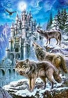 Пазлы Волки и замок, 1500 элементов Castorland С-151141