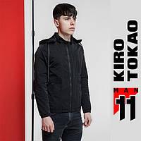Ветровка мужская весна осень Kiro Tokao - 3353 черный