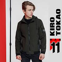 Ветровка мужская весенняя Kiro Tokao - 2061 зеленый