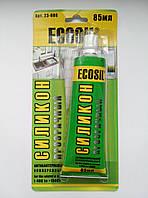 ECOSIL силикон универсальный, прозрачный 85мл