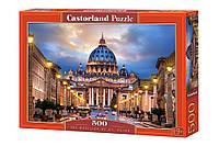 Пазлы Собор Святого Петра 500 элементов Castorland