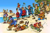 Пазлы Остров сокровищ, 500 элементов Castorland В-51281
