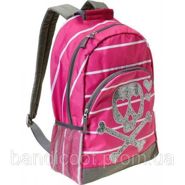 Рюкзак Old Navy Pink Sparkle Glitter Skull