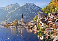 Пазлы Гальштат, Австрия, 500 элементов Castorland В-52189
