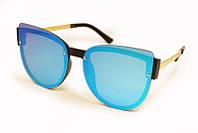 Модные солнцезащитные очки зеркальные