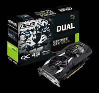 Видеокарта Asus GeForce GTX 1050 Ti 4Gb DUAL V2 (DUAL-GTX1050TI-O4G-V2)