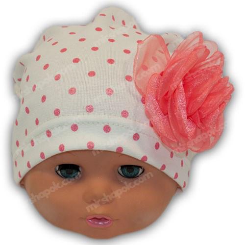 детские шапочки трикотаж для девочки