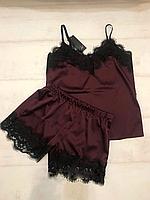 Женское белье для дом и сна, Женская пижама,размер С М Л