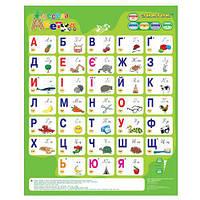 Говорящая азбука - ЗНАТОК - Весела абетка (украинский язык) ТМ Знаток REW-K008