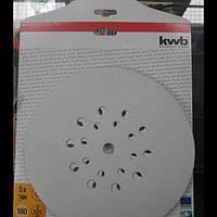 Абразивные круги KWB для TC-DW 225 Зернистость 180 уп. 5 шт