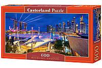 Пазлы '' Сингапур '' Castorland 600 элементов