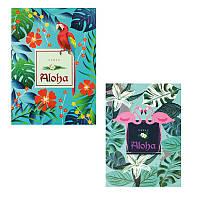 Блокнот Aloha 48 л, клетка, термобиндер, проклейка вверху