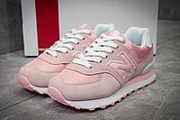 Кроссовки женские New Balance 574, розовые (11734), р. 36-40