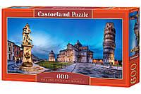 """Пазлы """" Пизанская башня """" Castorland 600 элементов"""