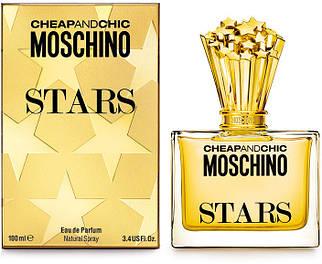 Женская туалетная вода Cheap And Chic Moschino Stars 100ml не оригинал