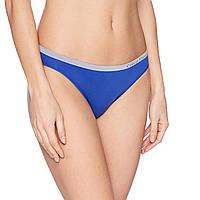 Женские синие трусики Calvin Klein