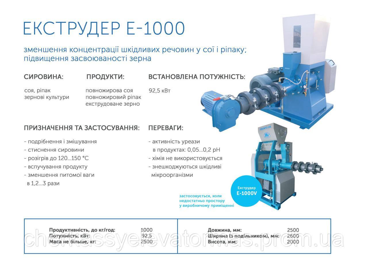 Экструдер Е-1000