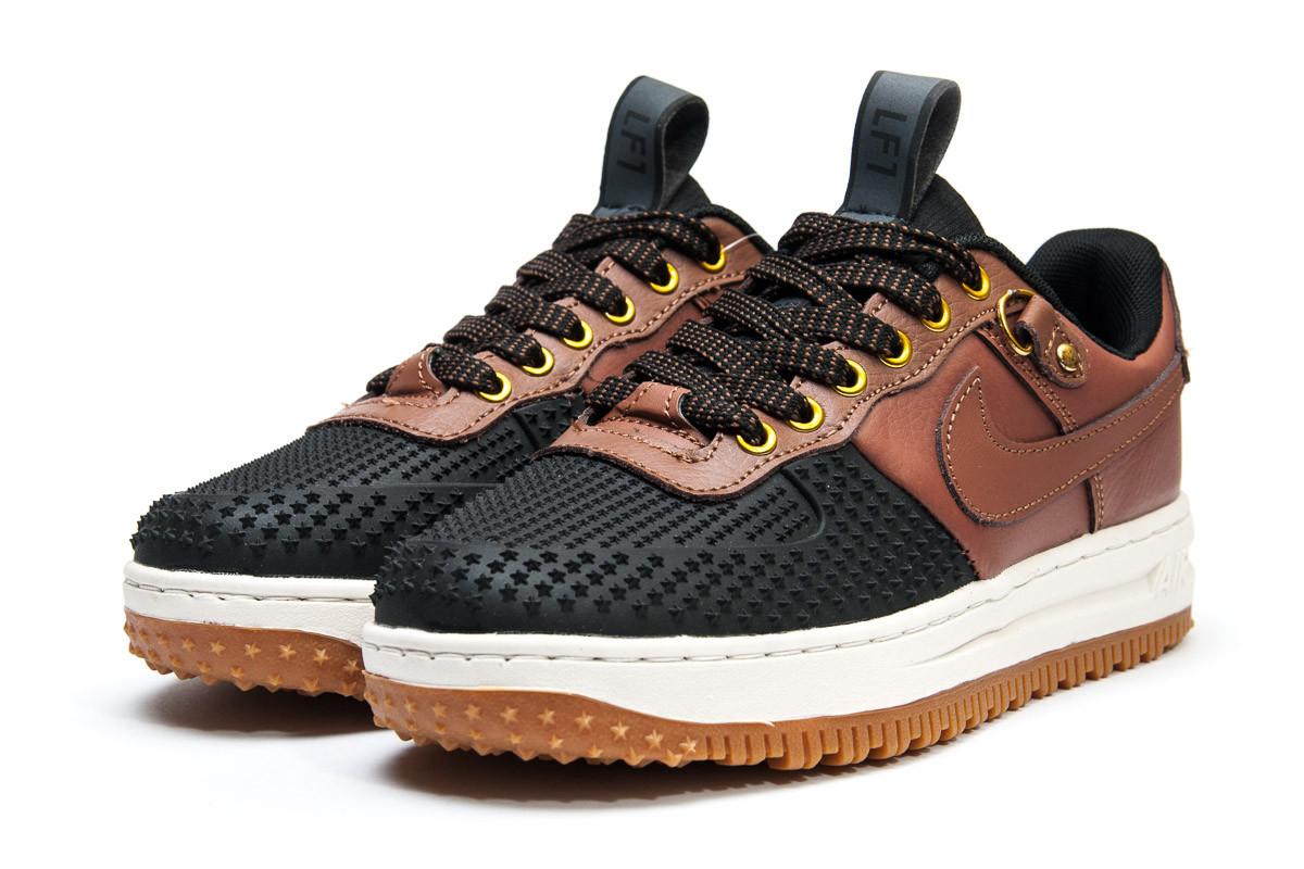 Кроссовки женские Nike  LF1, коричневые (11762) размеры в наличии ► [  37 38 39 40  ]