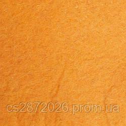 Фетр 1 мм, А4 (20х30 см) оранжевый