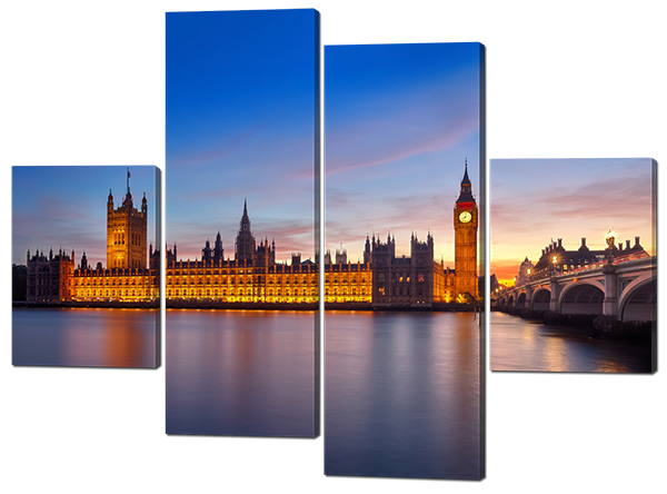 Модульная картина Биг Бен. Лондон