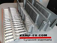 Поверхностный водоотвод с стальной оцинкованной решеткой