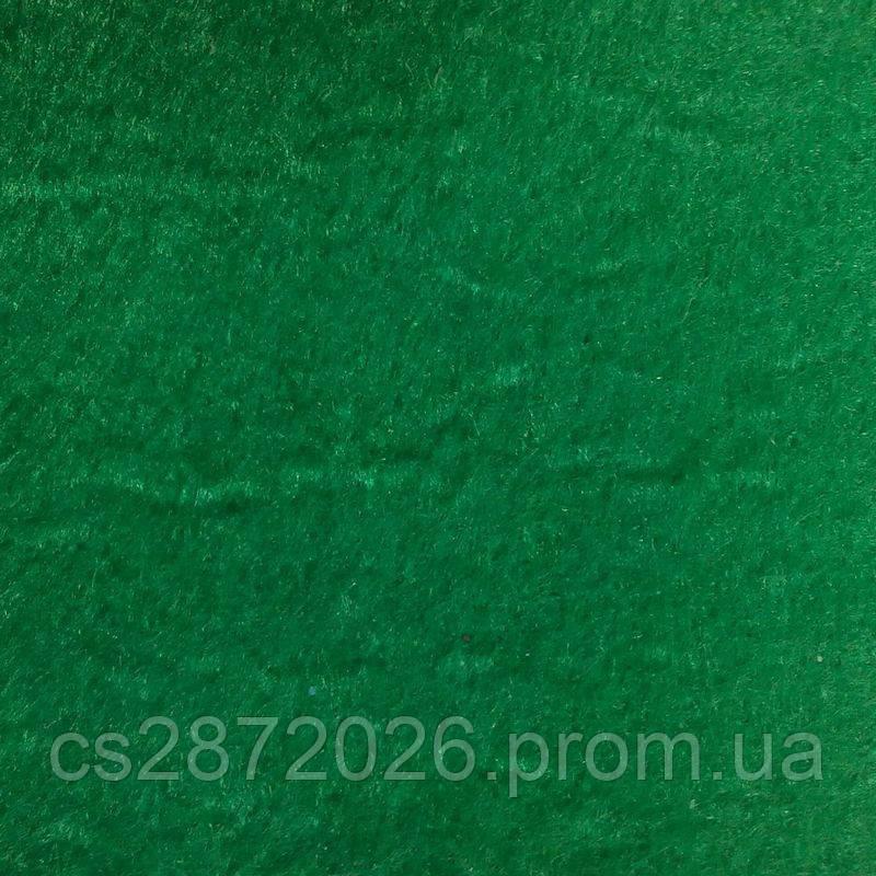 Фетр в рулоні 1 мм, (35х0,85 м) насичений зелений