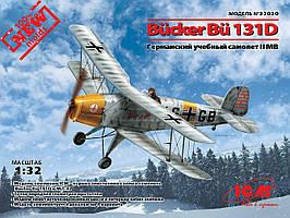 Bücker Bü 131D, Германский учебный самолет ІІ МВ. 1/32 ICM 32030